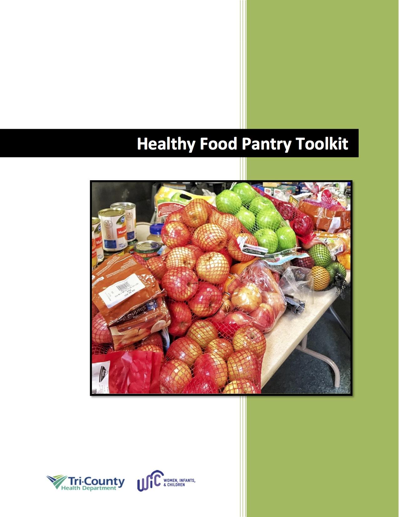Food Pantry Tool Kit