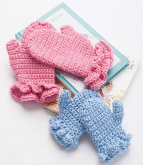 Make mittens in different sizes and styles