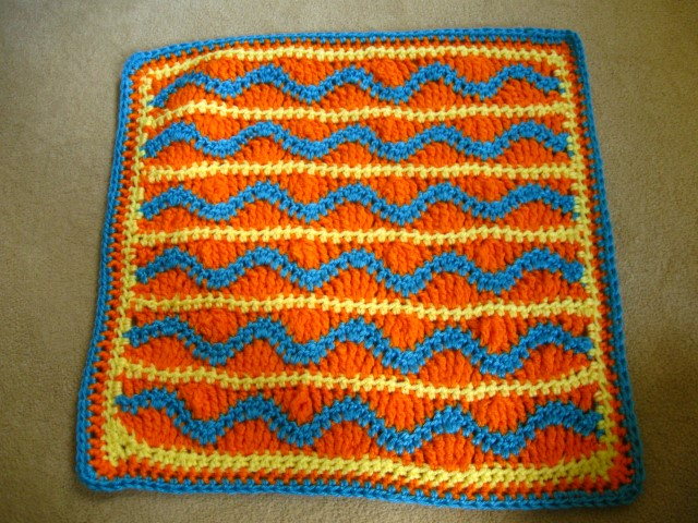 Ignore the eye-watering colors; I used yarn from my stash