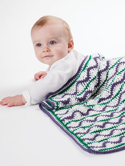 """Here's what the """"Wild Child"""" from the book looks like (the blanket, not the baby)"""