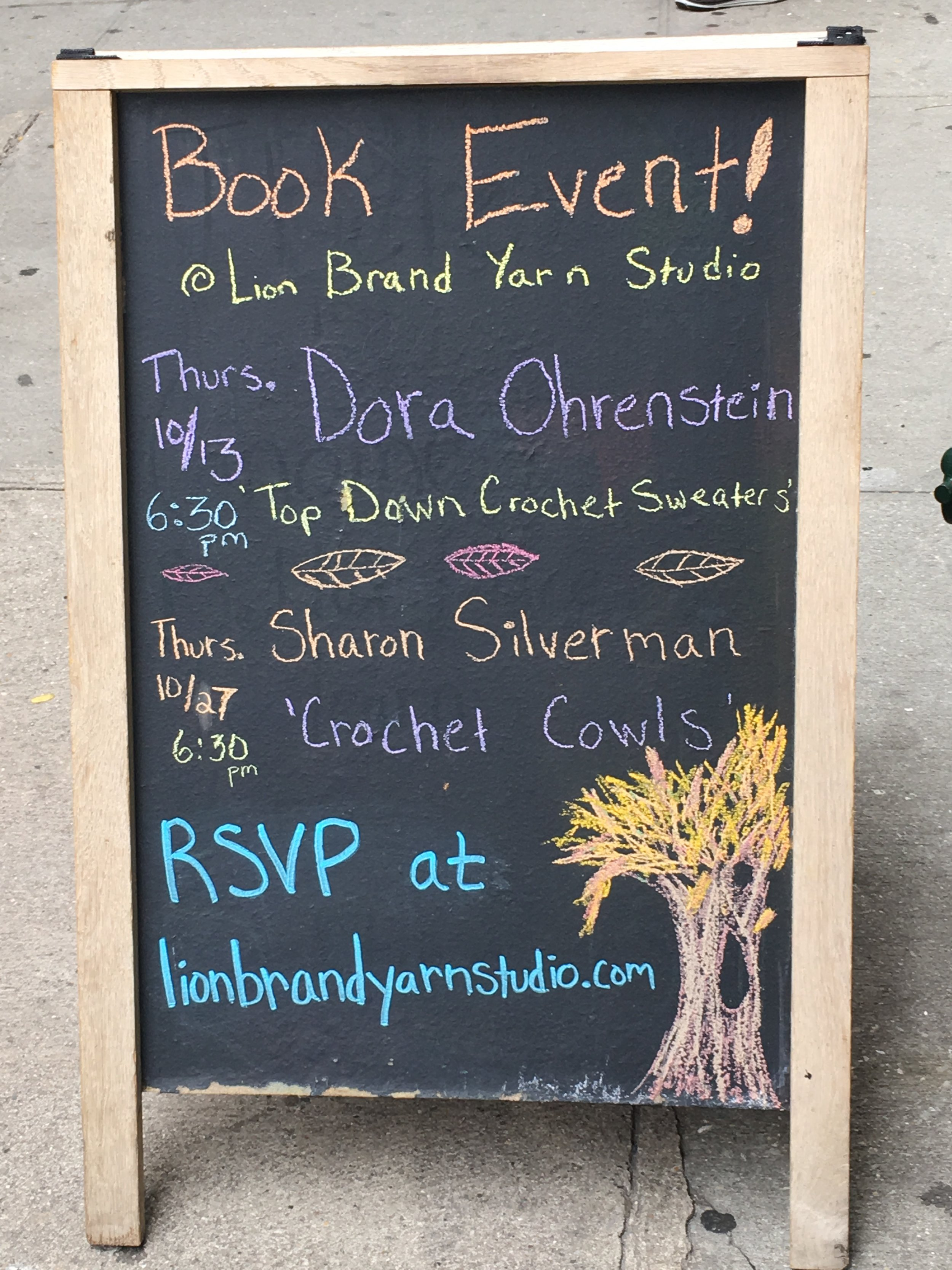Honored to be mentioned with Dora Ohrenstein!