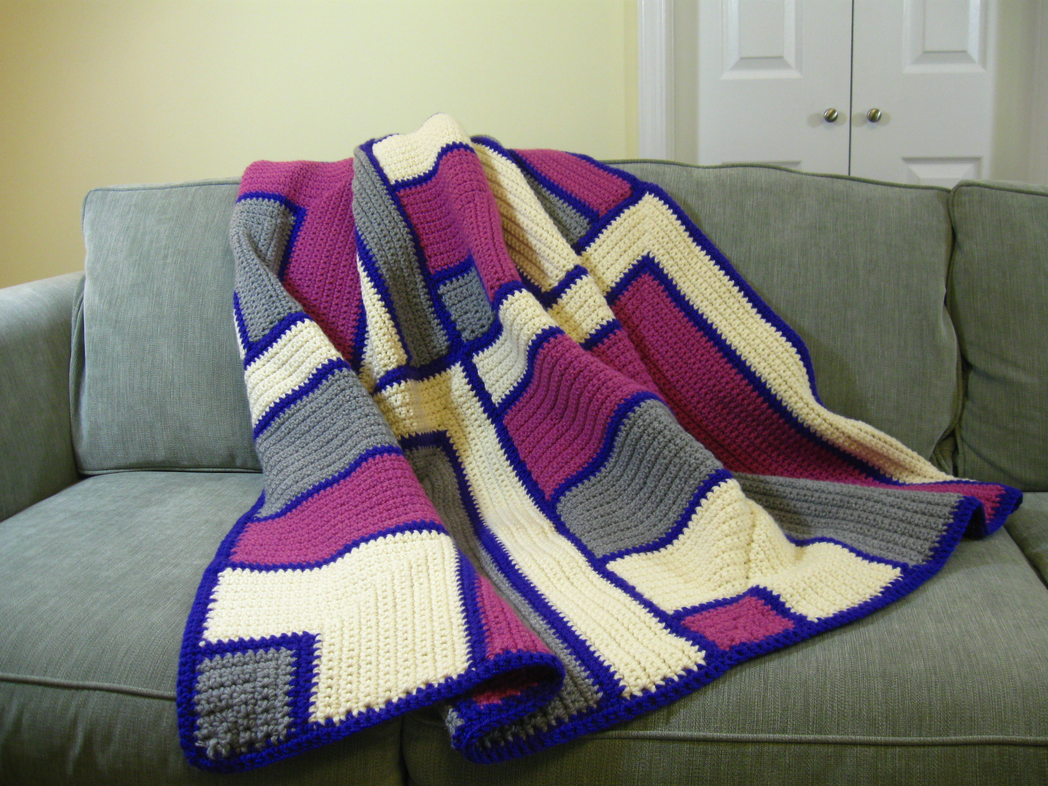 Magic Miters Shawl