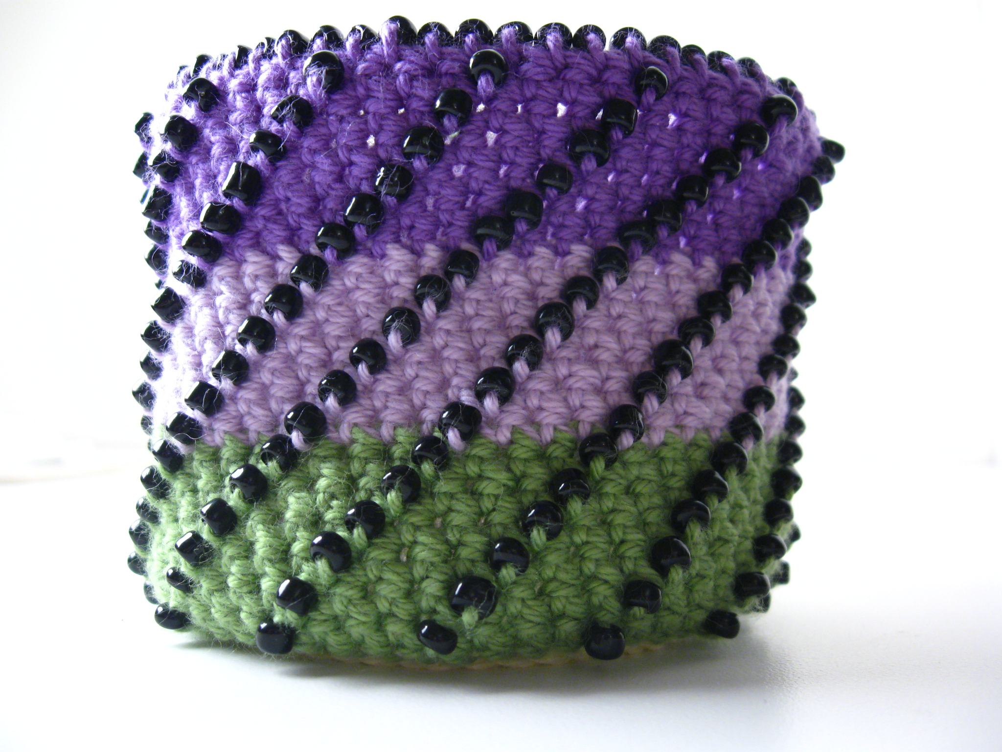 One of the beaded techniques I'll be teaching at the Outlet.