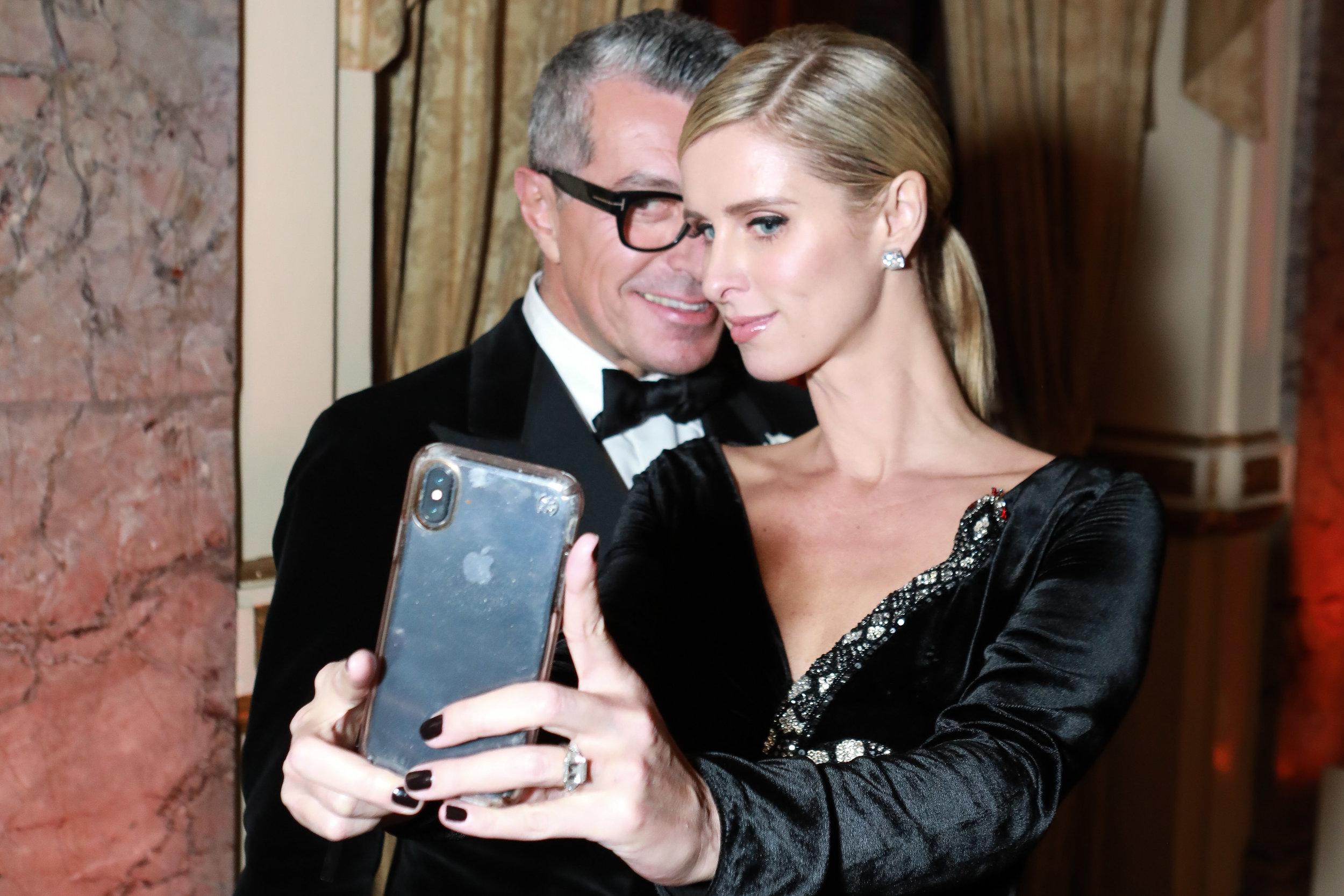 Giorgio Guidotti, Nicky Hilton Rothschild.jpg