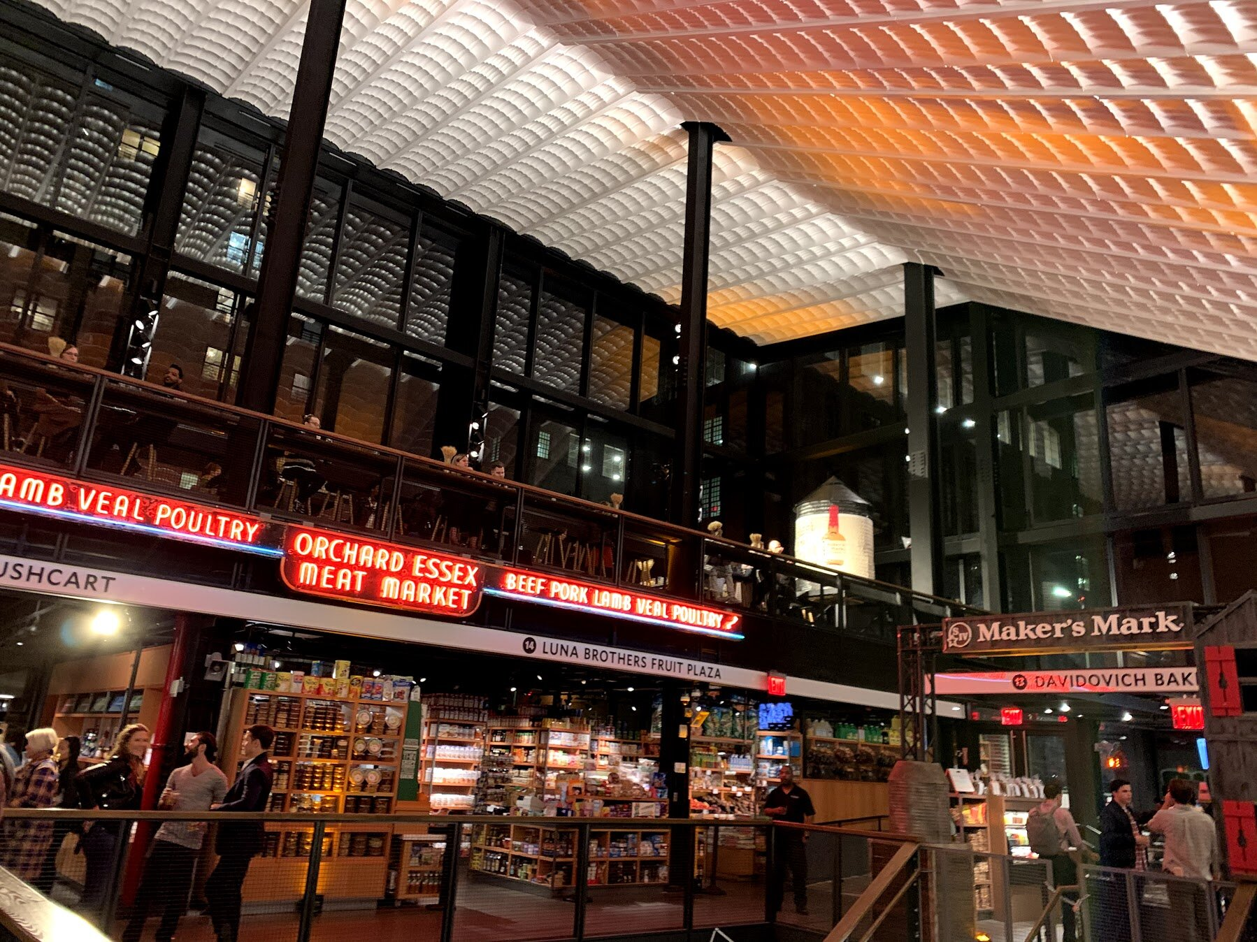 Maker's Mark(et) was held at the new Essex Market, which is located in the Lower East