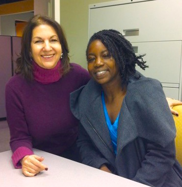 Fund founder Vicki Weiner & entrepreneur Grace Tappin