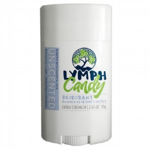 UNSCENTED DEODORANT: $10.00    Designed to absorb wetness and neutralize odor effectively, Lymph Candy is a clean, 6-ingredient deodorant that works