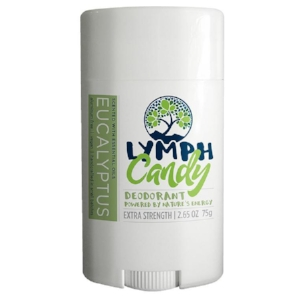 EUCALYPTUS DEODORANT: $10.00    Designed to absorb wetness and neutralize odor effectively, Lymph Candy is a clean, 6-ingredient deodorant that works