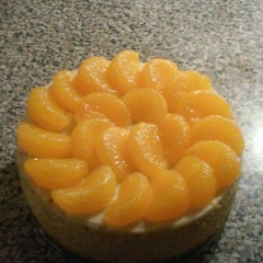 ORANGE SWEET POTATO CHEESECAKE $20.00+    This modern twist on the iconic southern favorite sweet potato pie. features a homemade Graham Cracker Crust, authentic organic yams & is topped off with glistening Mandarin Orange Wedges