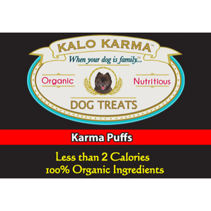 KARMA PUFFS $10.00    Yikes, at less than 2 calories, it's the guilt-free treat!!