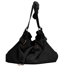 CROSS-BODY PARKER BAG $538.00    With adjustable shoulder strap available in suede or leather