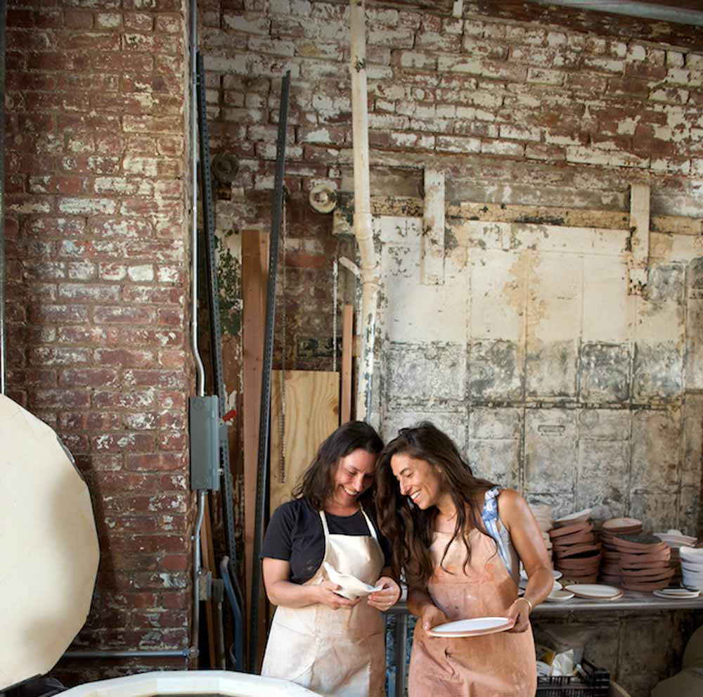 """""""They've just always supported us, every step of the way."""" - ENTREPRENEUER: Jennifer Fiore and Nina Lalli : MONDAYS"""