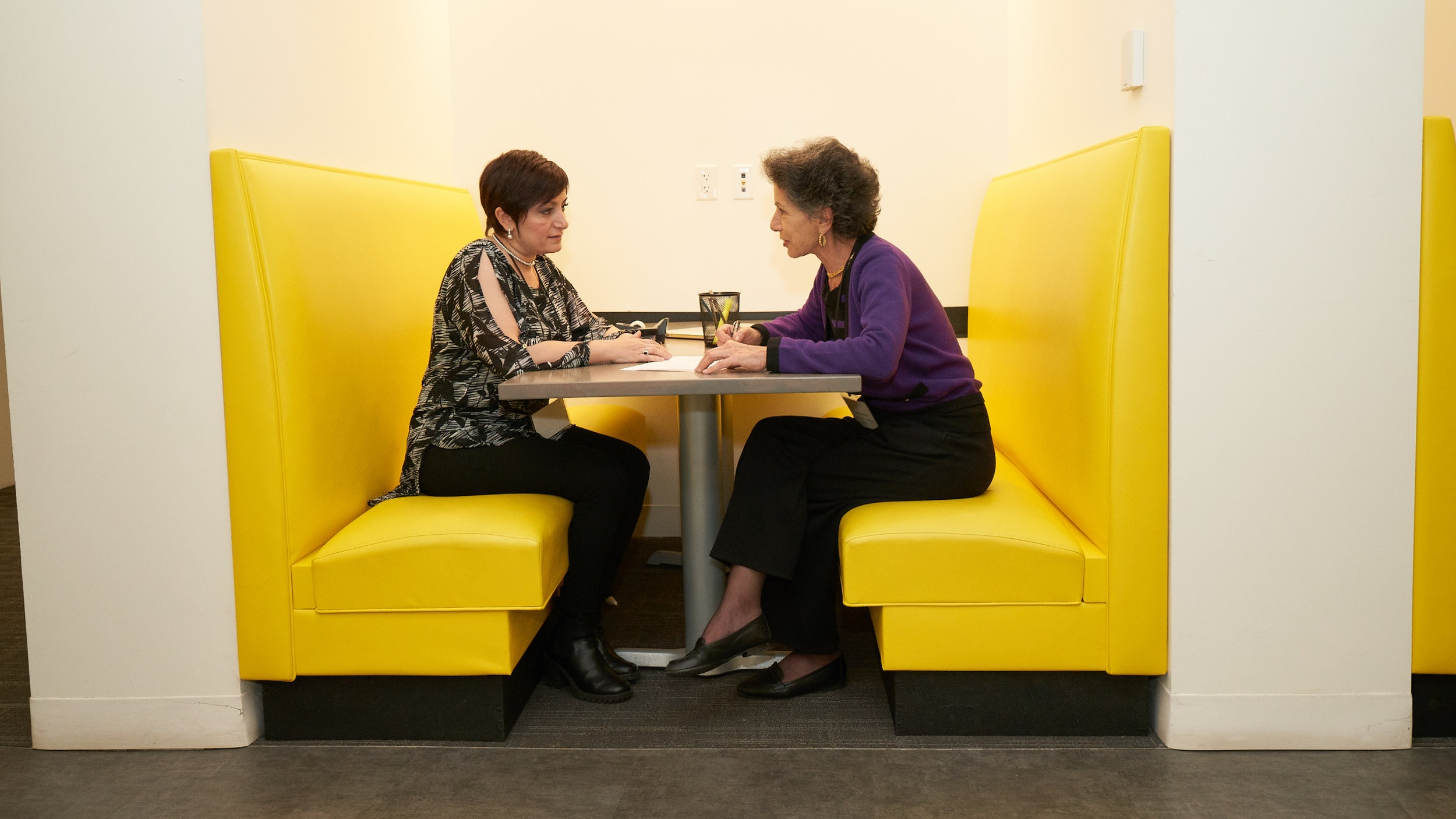 ONE-ON-ONE MENTORING   An experienced businesswoman from our board of advisors works with each of our participants providing business advice and assistance.
