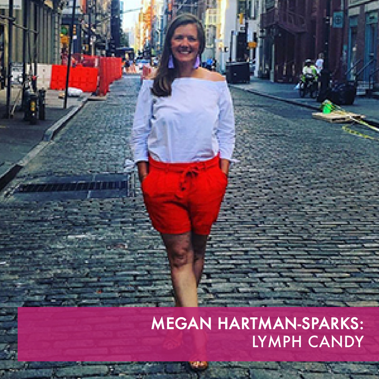 Lymph Candy, is a deodorant line focused on bringing a nontoxic product to the global marketplace. Formulated with just six ingredients, it is designed to promote lymphatic health.