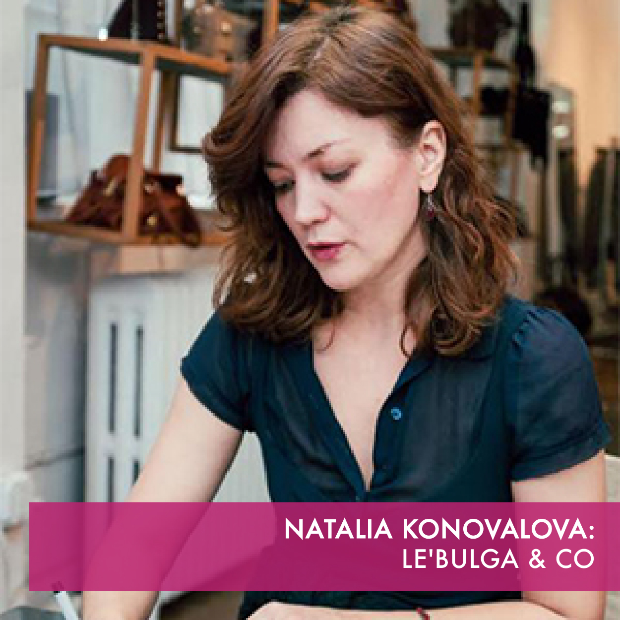 Le'Bulga is known for lamba leather bags and eye-catching designs inspired by New York City's fast paced lifestyle and geared toward the modern woman's life journey.