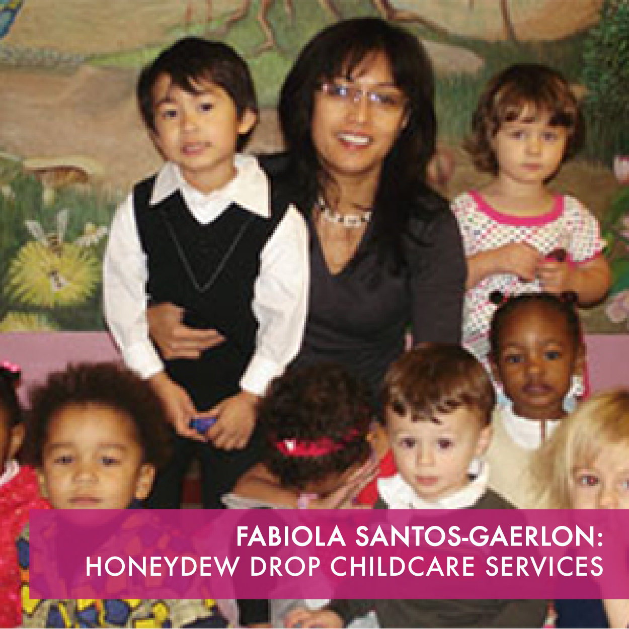 We care for children from ages 4 months to 5 years old. Our mission is to provide high quality childcare, parental support and leadership training for childcare providers.