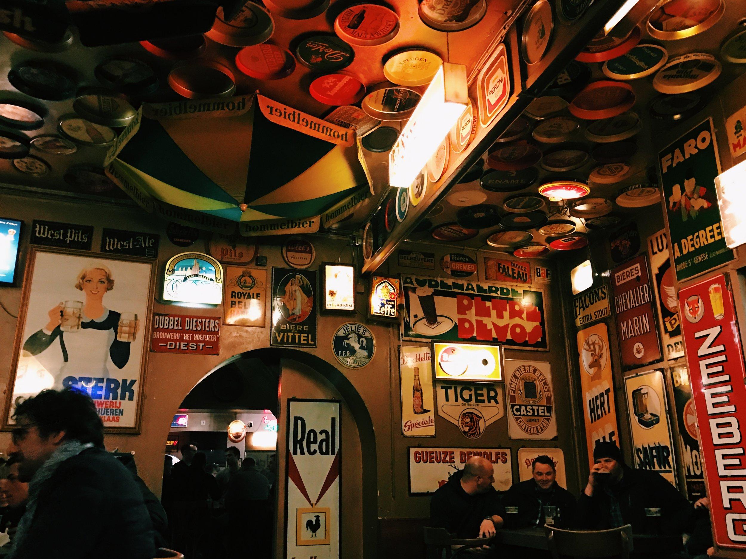 Delirium Café. Brussels, Belgium.