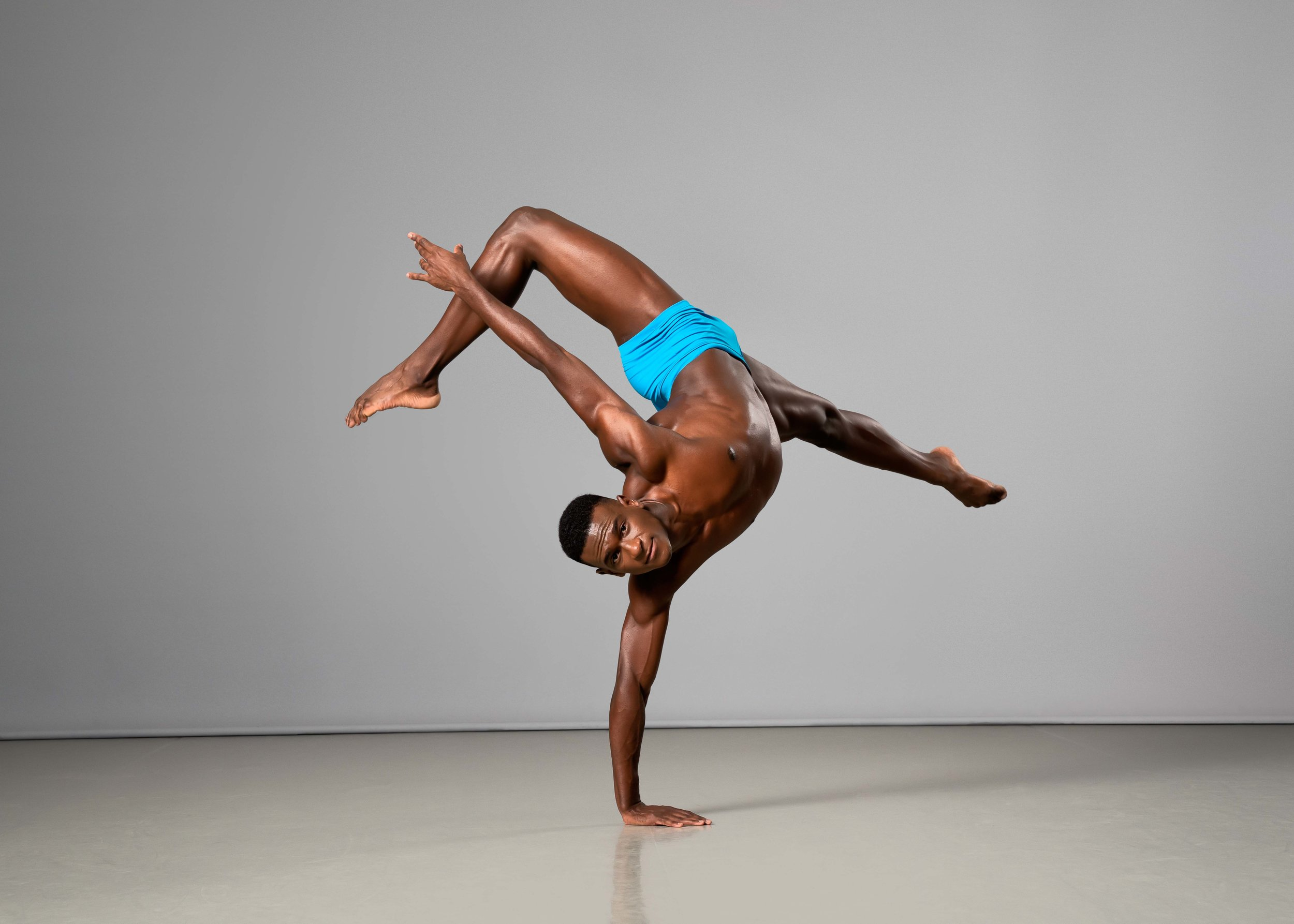 Ailey II's Leonardo Brito. Photo by Kyle Froman.