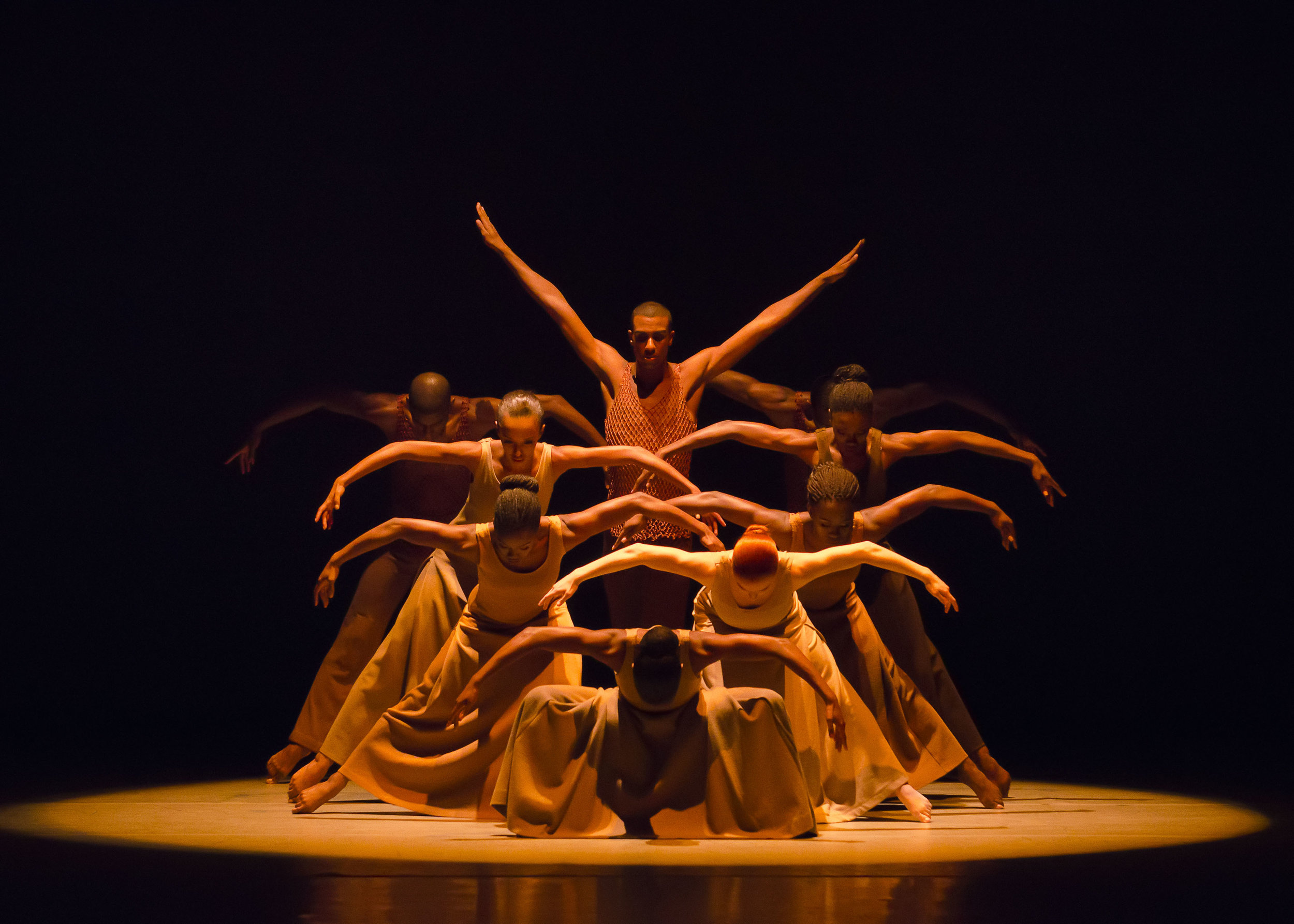 Ailey II in Alvin Ailey's Revelations. Photo by Kyle Froman.
