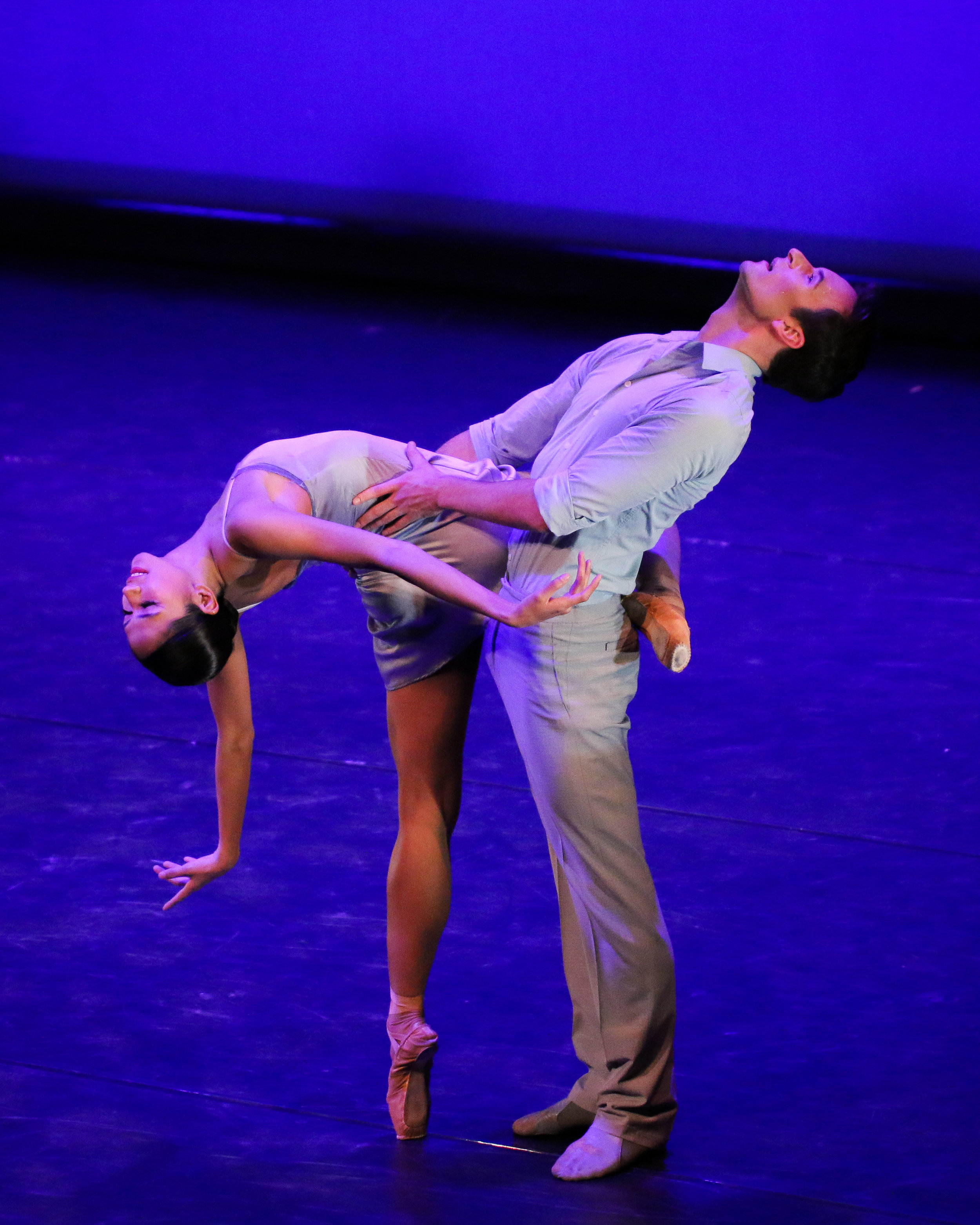 Christine Rocas and Rory Hohenstein, An Evening of Ballet Stars, Photo by Carly Vanderheyden