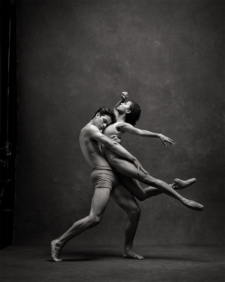Pennsylvania Ballet's Nayara Lopes and Sterling Baca. Photo by Ken Browar, Ken Browar and Deborah Ory's NYC Dance Project.