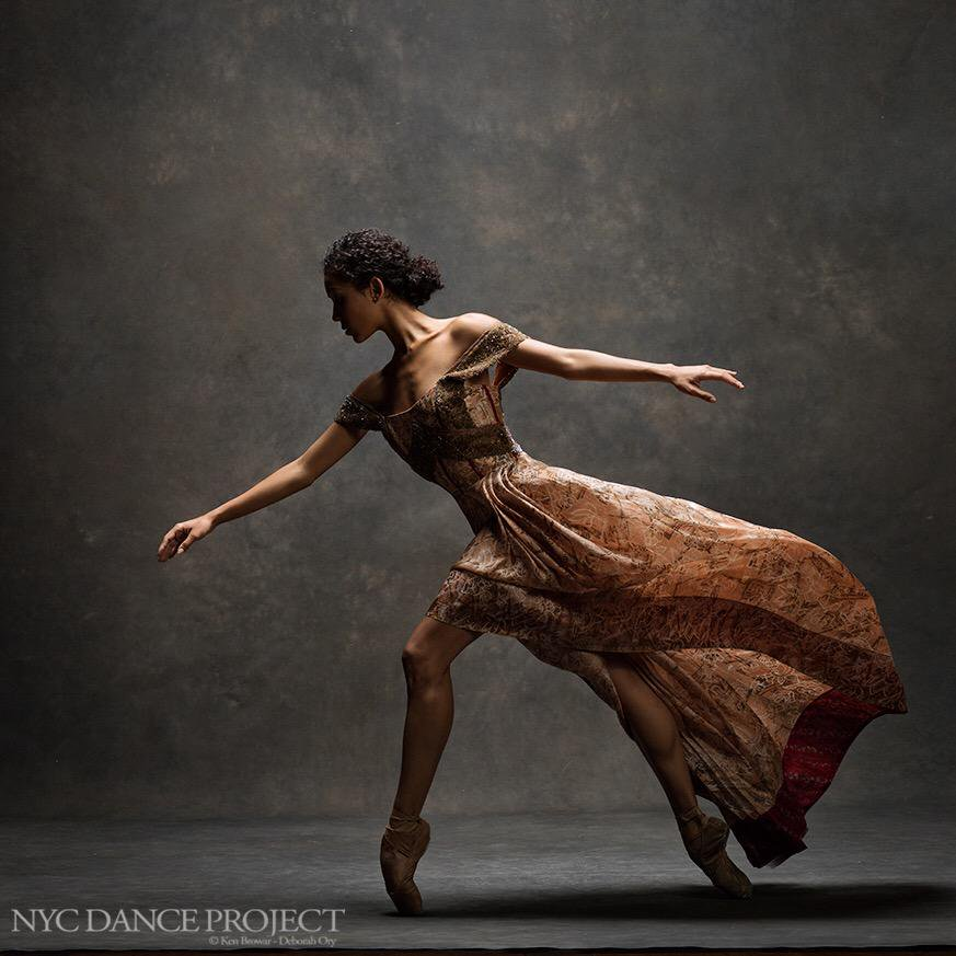 Pennsylvania Ballet's Nayara Lopes. Photo by Ken Browar, Ken Browar and Deborah Ory's NYC Dance Project.