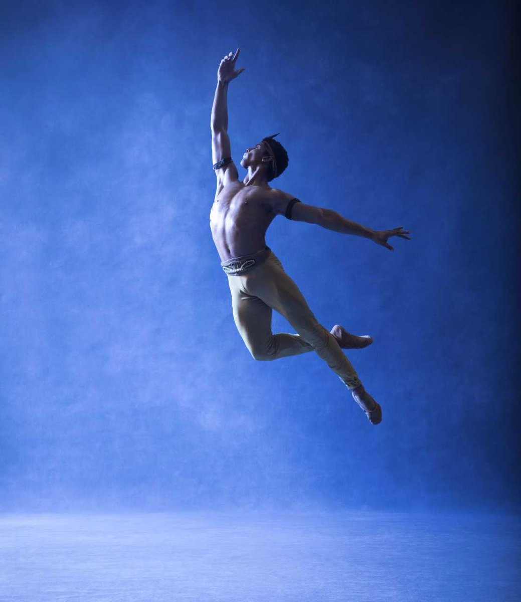 The Washington Ballet's Gian Carlo Perez. Photo by Dean Alexander.