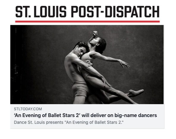 Interview with nayara lopes & sterling baca by the St. louis post-dispatch's calvin wilson