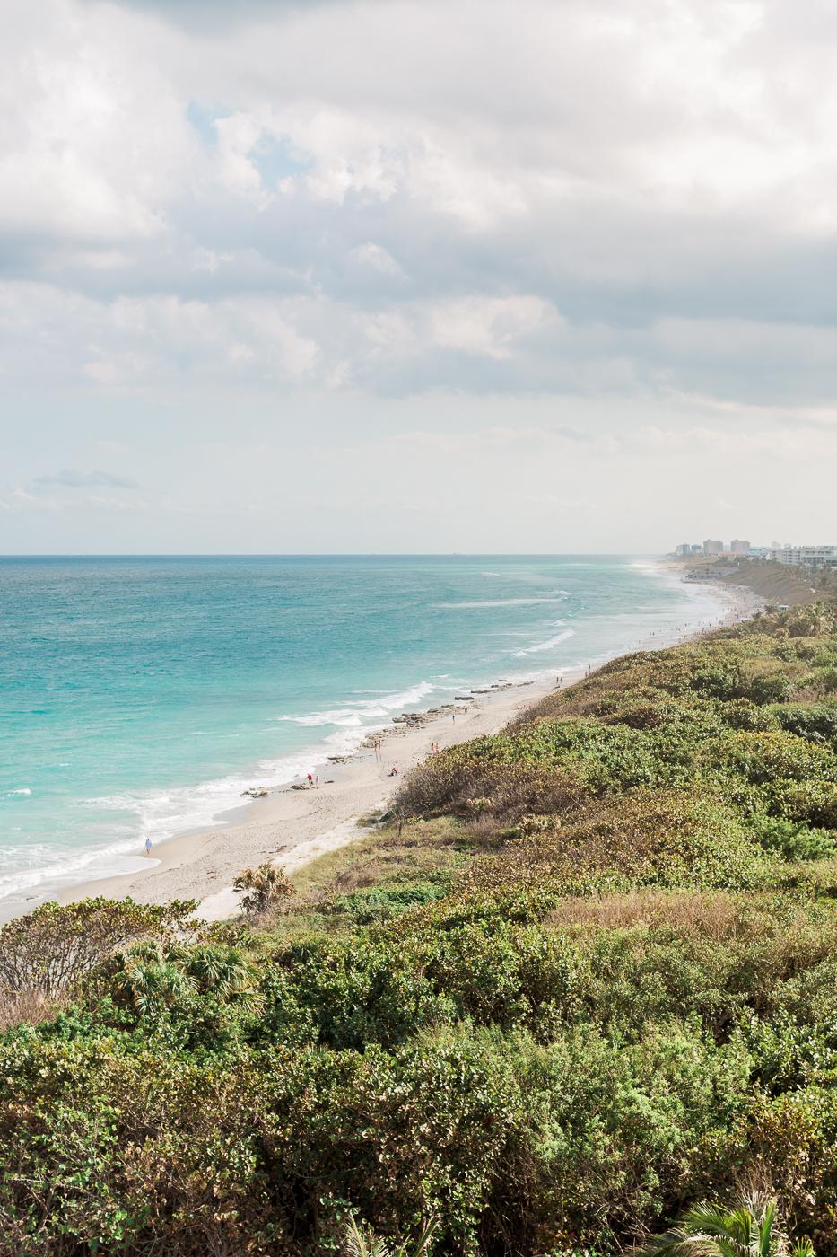 Seafoam + Blue Jupiter Beach Resort West Palm Beach Florida Wedding