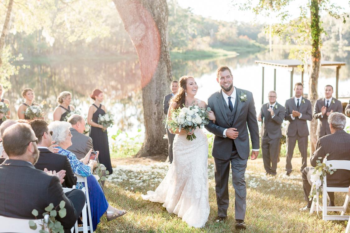 Elegant Tented Backyard, Lakefront Wedding On Grandparent's Land In Brooksville, Florida   Tampa, Miami Florida Fine Art Wedding Photographer