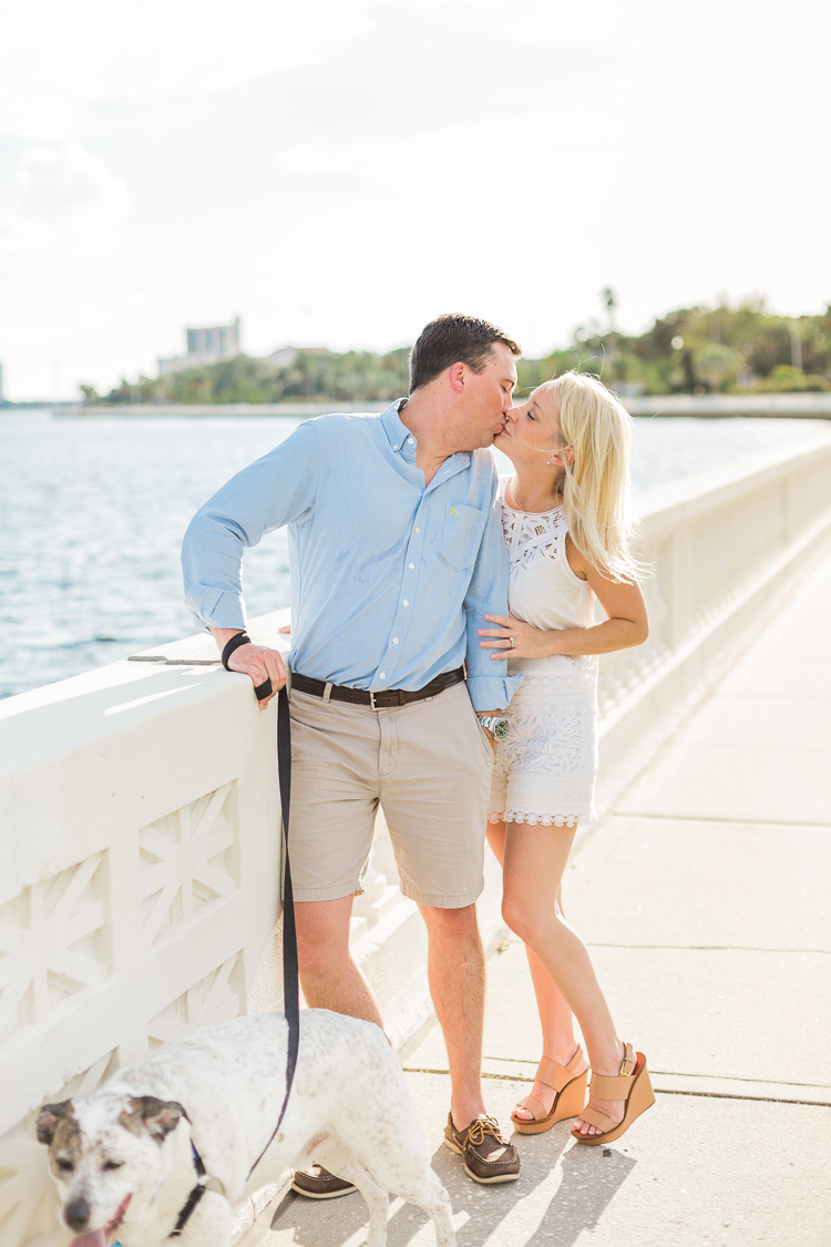 At Home Engagement in Hyde Park and Bayshore | Tampa Engagement Photographer | Lauren Galloway Photography