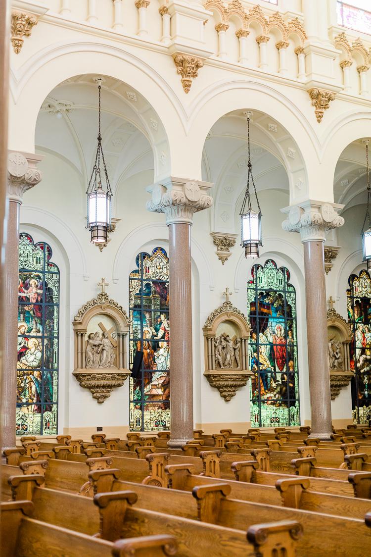 Sacred Heart Church Wedding Tampa Photographer | Lauren Galloway Photography-39.jpg