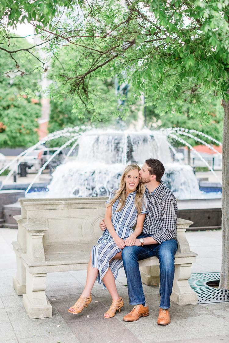 Downtown Nashville Symphony Center, Cheekwood Estate and Gardens Engagement Photography | Lauren Galloway Photography | Nashville Wedding Engagement Photographer