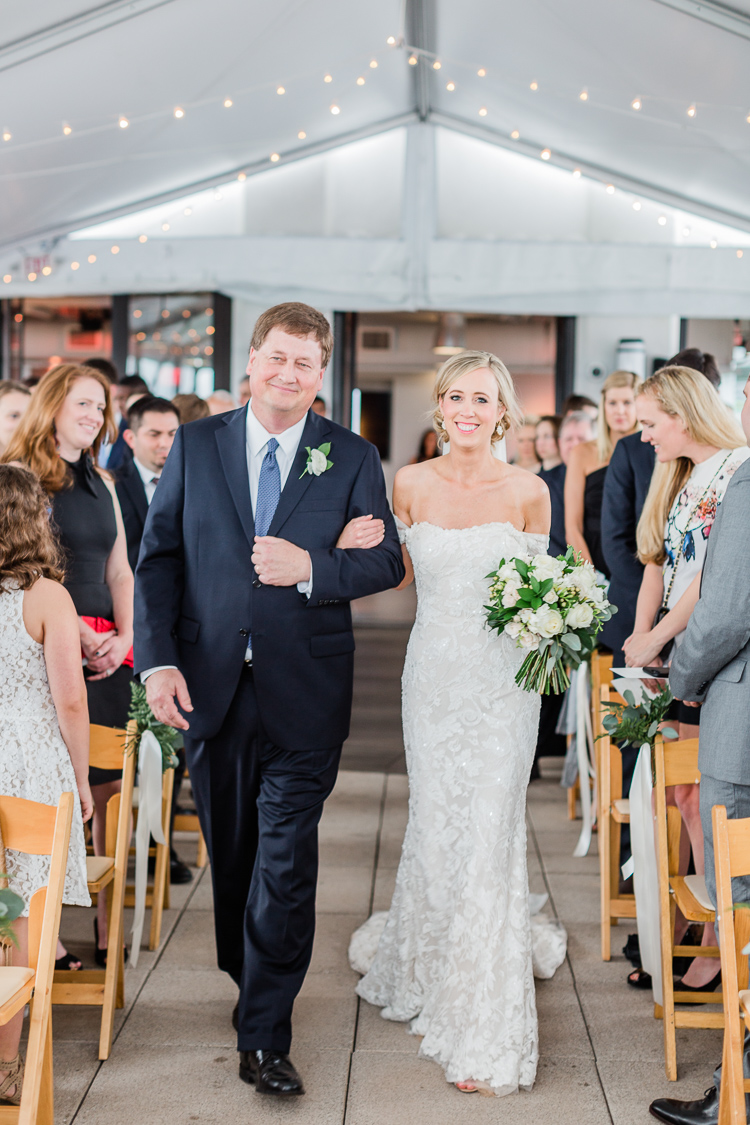 The Bridge Building Downtown Nashville Wedding Photographer | Lauren Galloway Photography | Nashville Weddings
