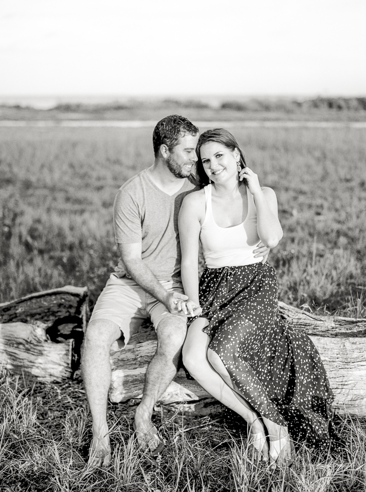 Florida Beach Film Engagement Photographer, Fort De Soto Park, St. Petersburg, Tampa Wedding, Lauren Galloway Photography