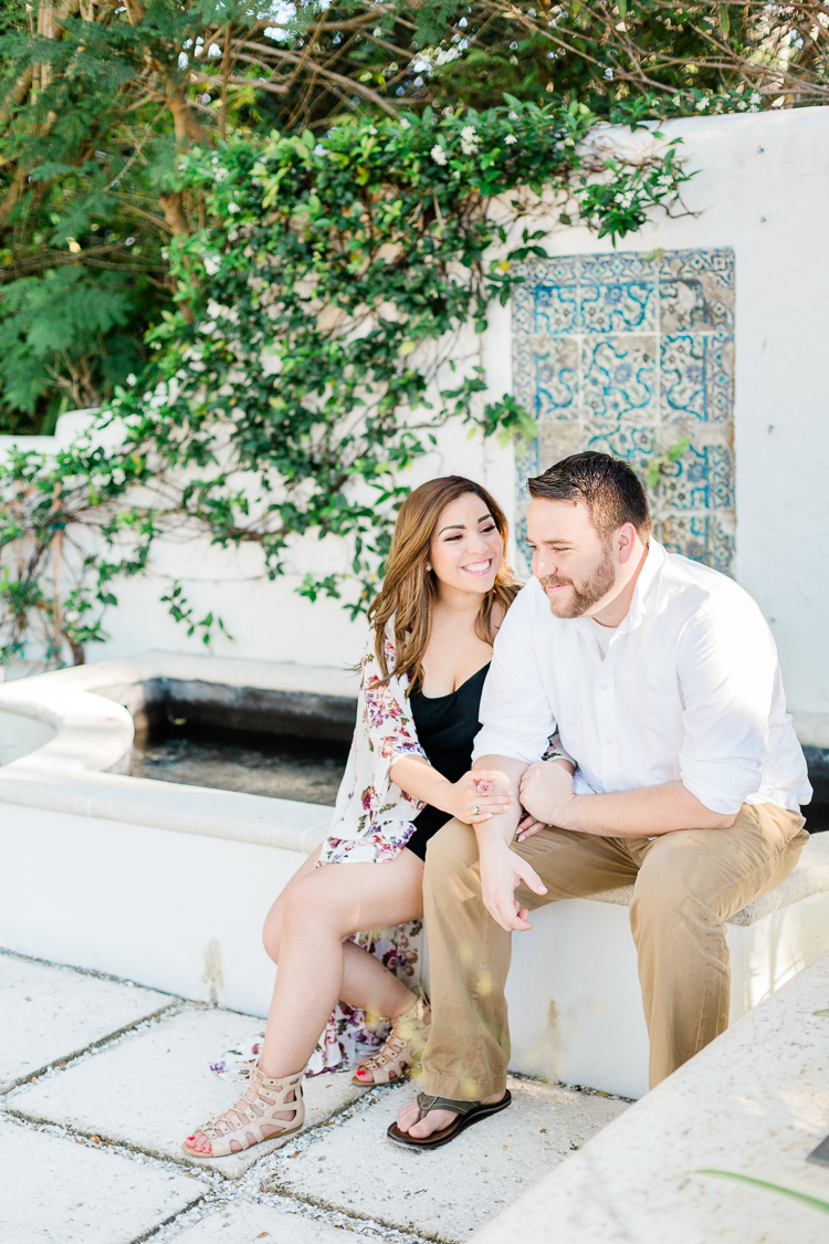 Boca Grande Engagement Photo | Sarasota Wedding Photographer | Banyan Tree Engagement | Lauren Galloway Photography