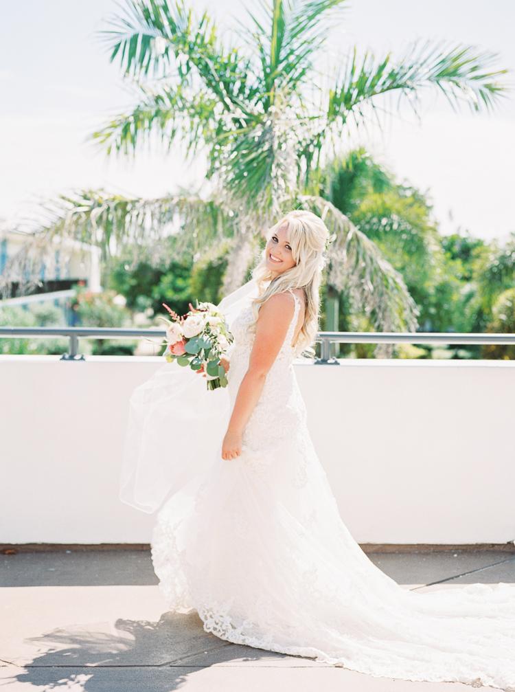 Bohemian Florida Beach Wedding At The Postcard Inn | Lauren Galloway Photography