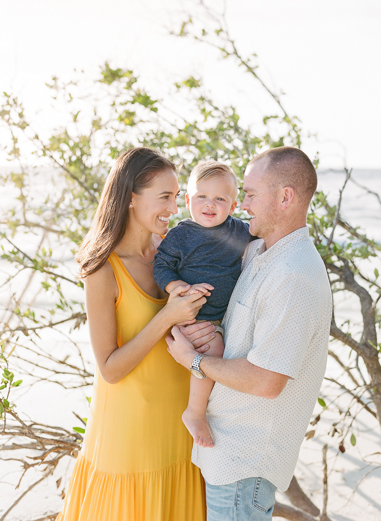 Lauren Galloway Photography | Longboat Key Beach Fall Family Session