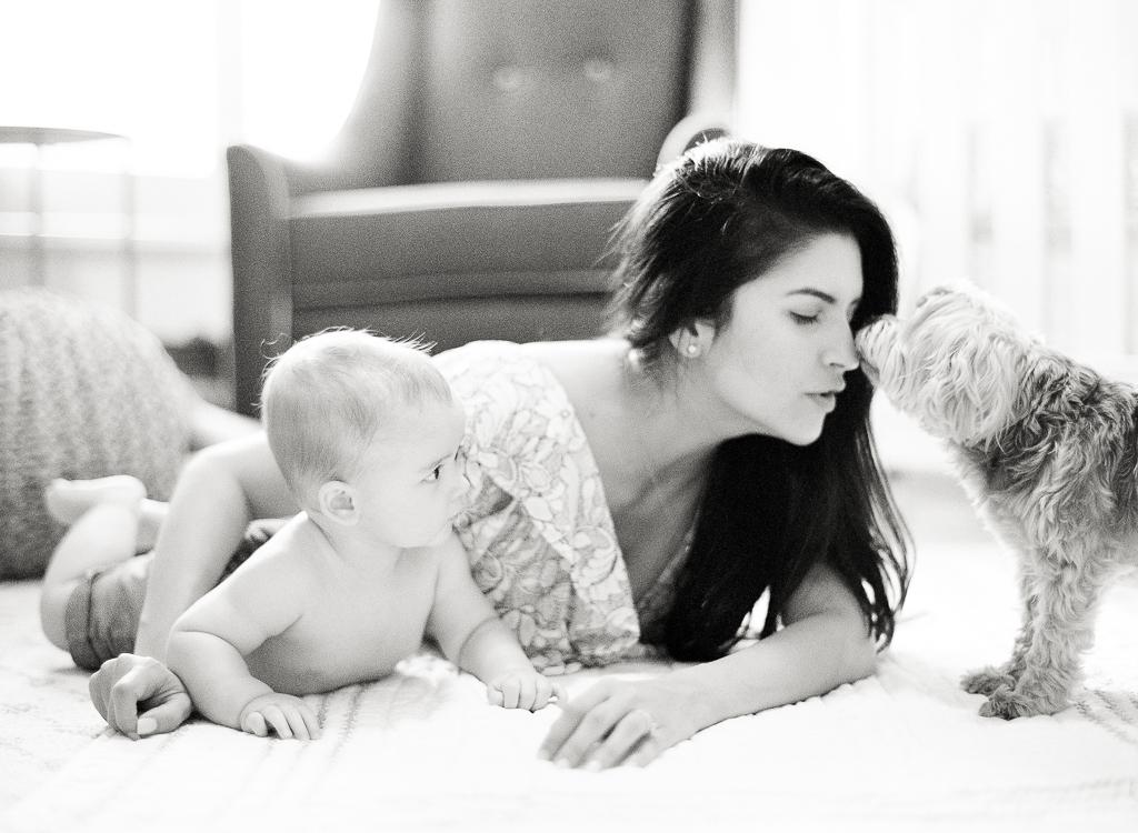 Lauren Galloway Photography | Boca Raton At Home Family Portrait | West Palm Beach, Miami Family Film Fine Art Photographer