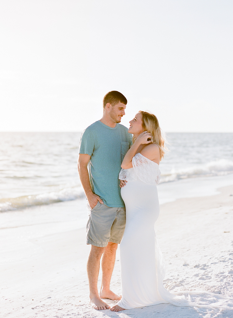 Lauren Galloway Photography | Florida Beach Maternity at Siesta Key