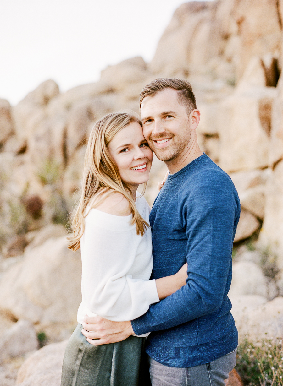 Lauren Galloway | Joshua Tree National Park Desert Engagement in California | Palm Springs, Joshua Tree, LA Wedding Photographer