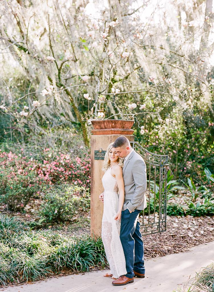 Lauren Galloway | Bok Tower Gardens Engagement | Florida, Nashville, South Carolina Wedding Photographer
