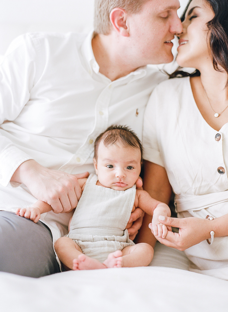 Lauren Galloway | Newborn At Home Family Film Portraits | Tampa, Florida Family Photographer