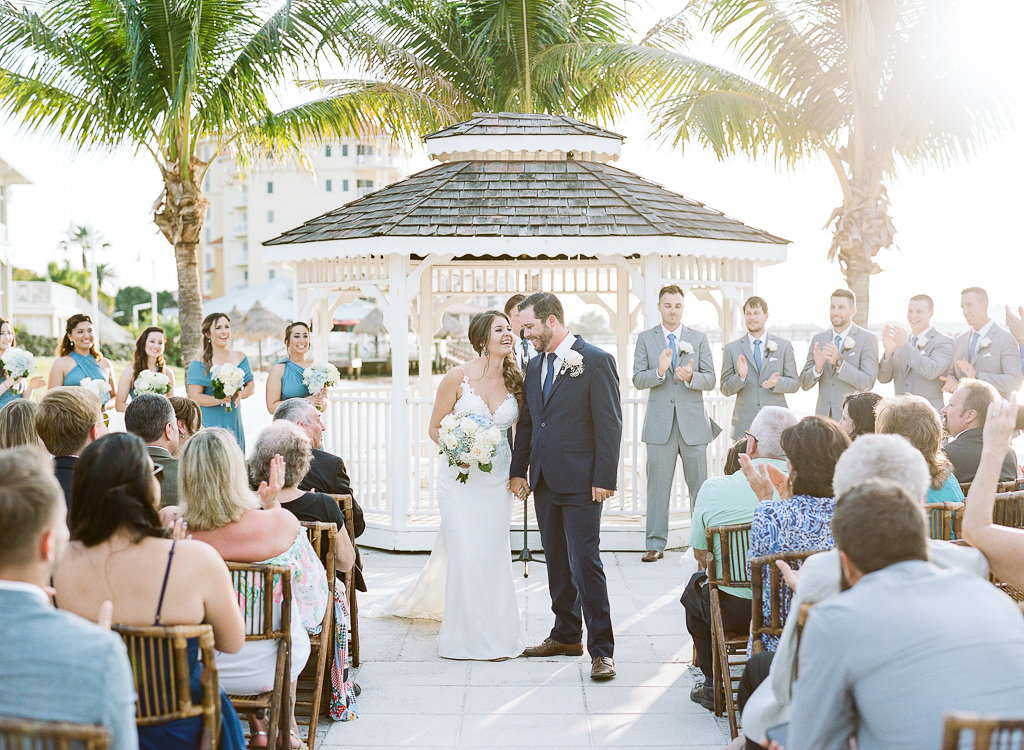 Lauren Galloway | Sunset Sailboat Wedding At Isla Del Sol Yacht Club St. Petersburg Florida