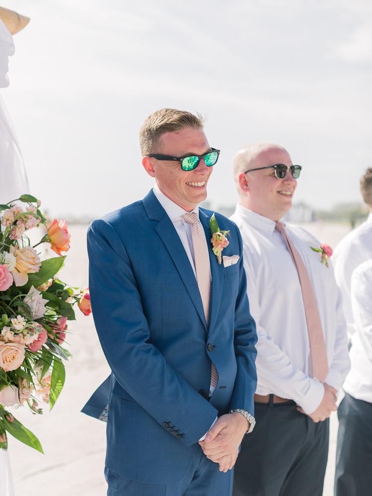 Lauren Galloway   Tropical Destination Beach Wedding in Florida