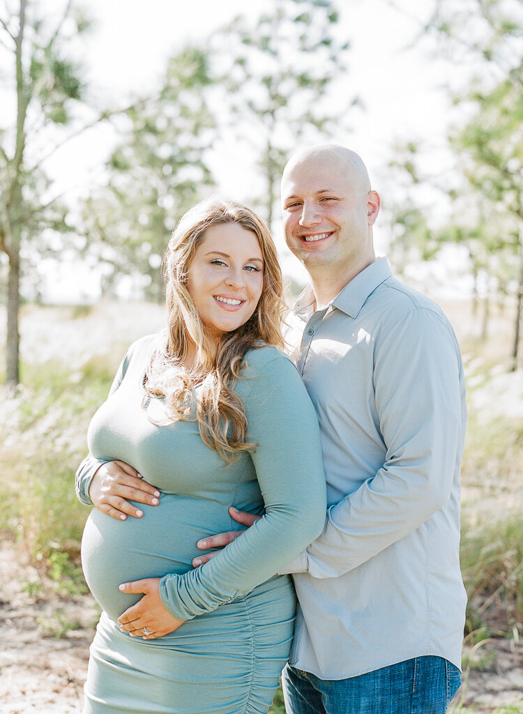 Lauren Galloway | Film Maternity Session at Bok Tower Gardens, Florida Maternity Family Session