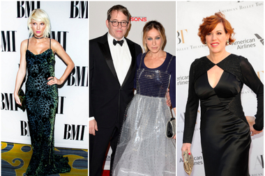 Taylor Swift, Sarah Jessica Parker, Matthew Broderick and Molly Ringwald