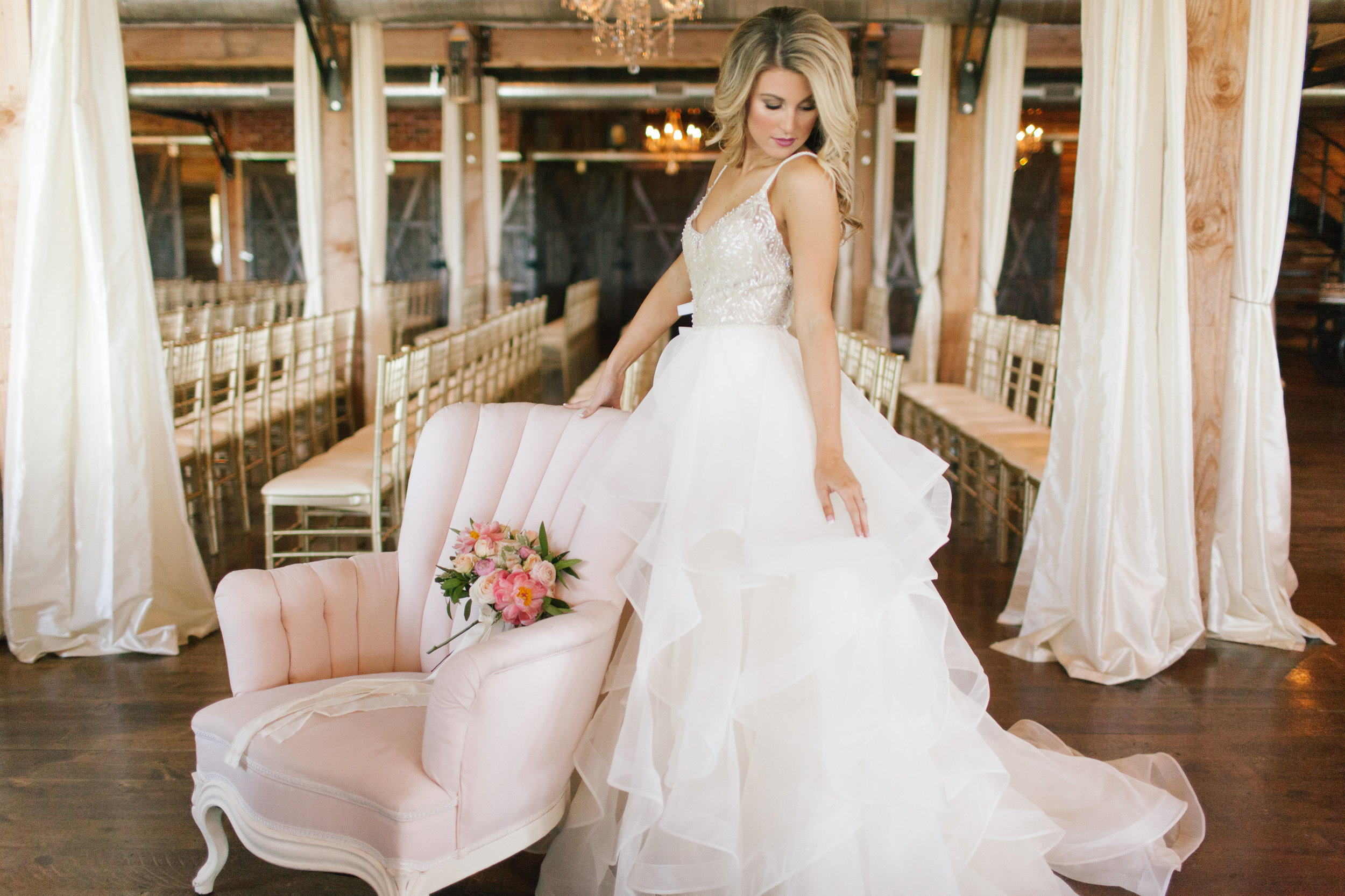 Bliss Celebration and Design Sweet Peach Bride, Kennedy Wedding Dress, Watters