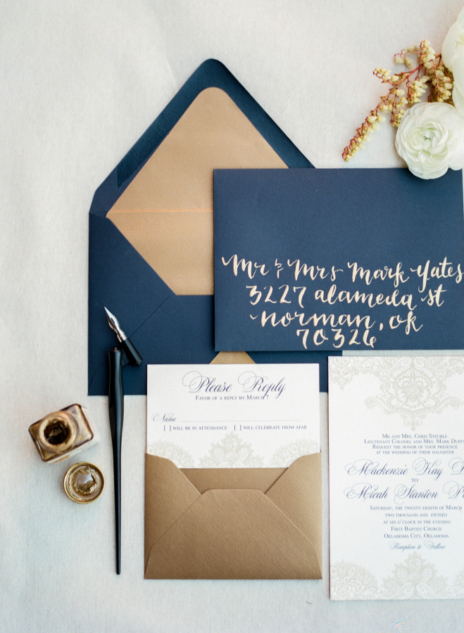 Okay, so I am probably biased on this invitation suite, but it's from my wedding! Check out the link for the  Style Me Pretty feature on my big day.
