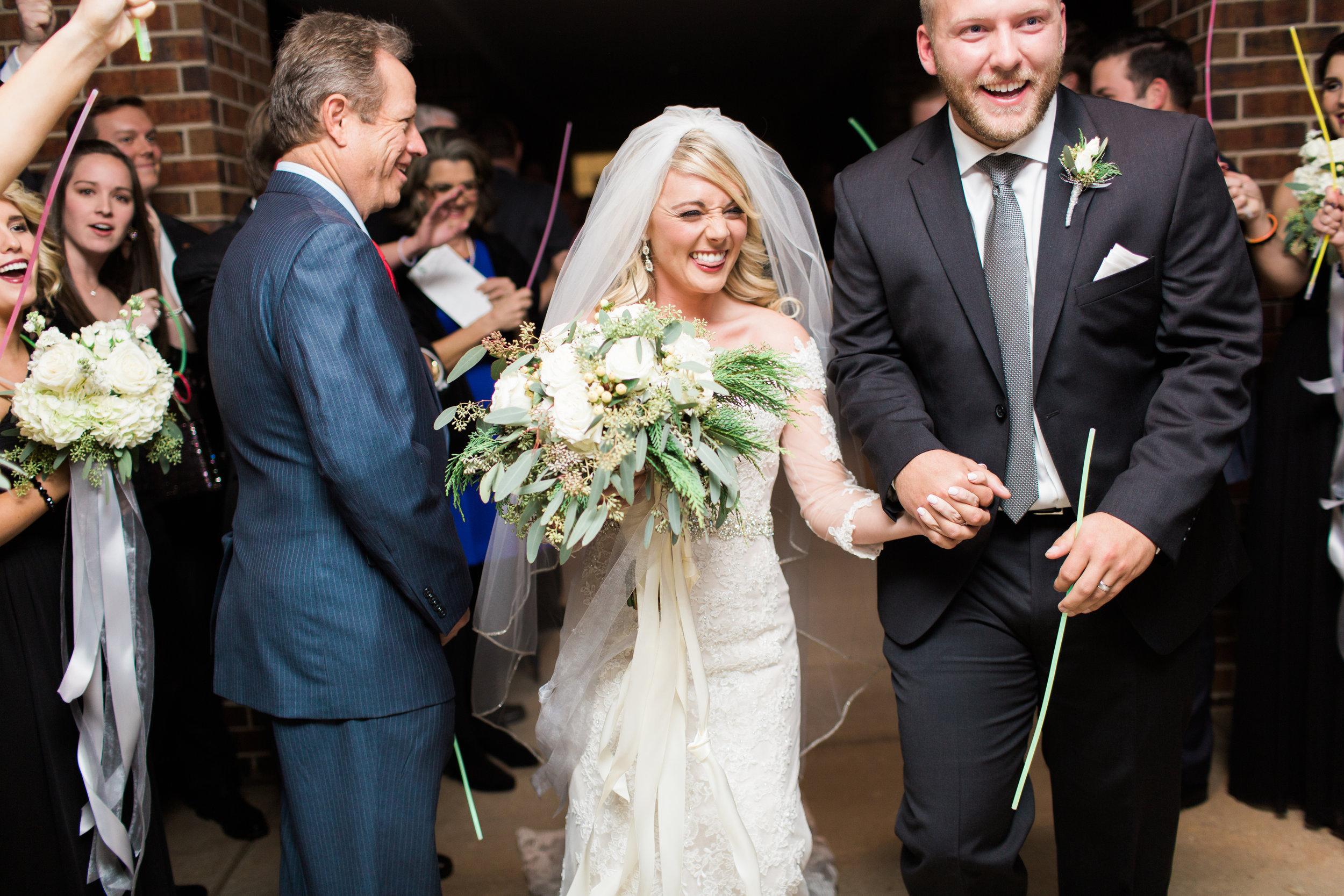Magnolia Adams Photography | Bride Groom Exit